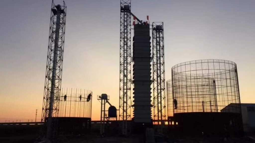 سیلوی بتنی ساخت شرکت آورتین