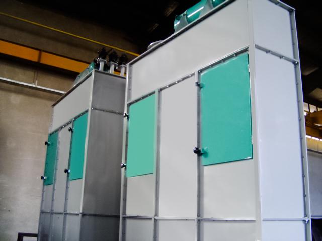 سیستم های غبارگیر فیلتر مکعبی