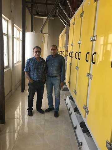 الک های جامبو ۸ کانال ۲۴ طبقه شرکت ارد نادر- صفا دشت کرج