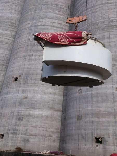 طراحی و ساخت تجهیزات غبارگیری سیلوی ۱۰۰ هزار تنی گرمسار