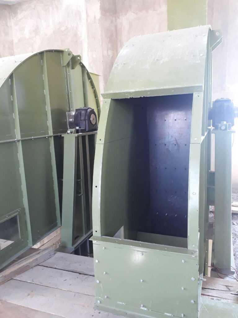 نصب هد الواتور در تراز۵۲/۰۰+ برجکار