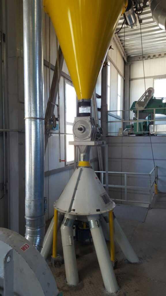 پروژه کارخانه خوراک دام و طیور دانه سازان سیمرغ