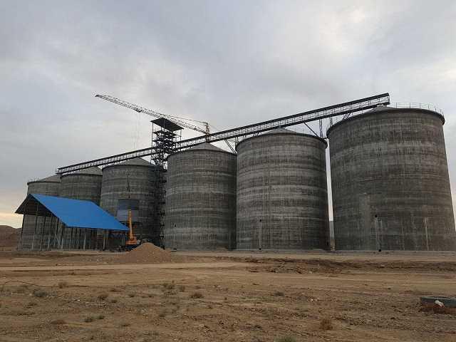 پروژه سیلوی حاجی آباد