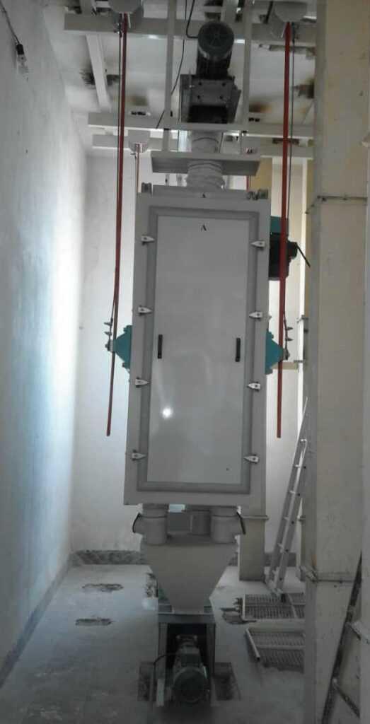 الک کنترل نصب شده در کارخانه ارد سپید کوه دورود
