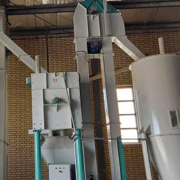 خط ماشین آلات تولید کنسانتره نصب شده در شرکت دانه سازان سیمرغ