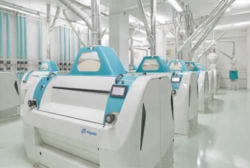 کنترل دمای ماشین آلات تولید آرد